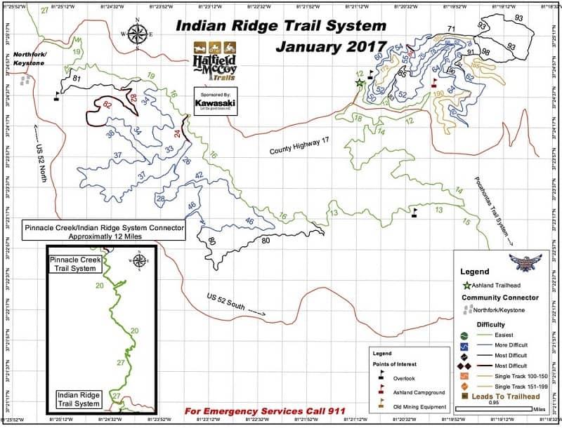Indian Ridge Hatfield McCoy Trails