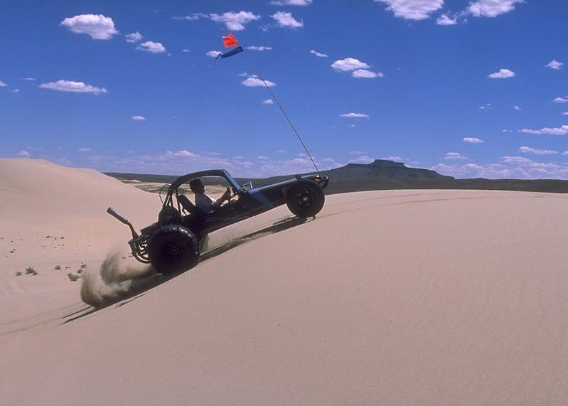 Killpecker Sand Dunes Wyoming
