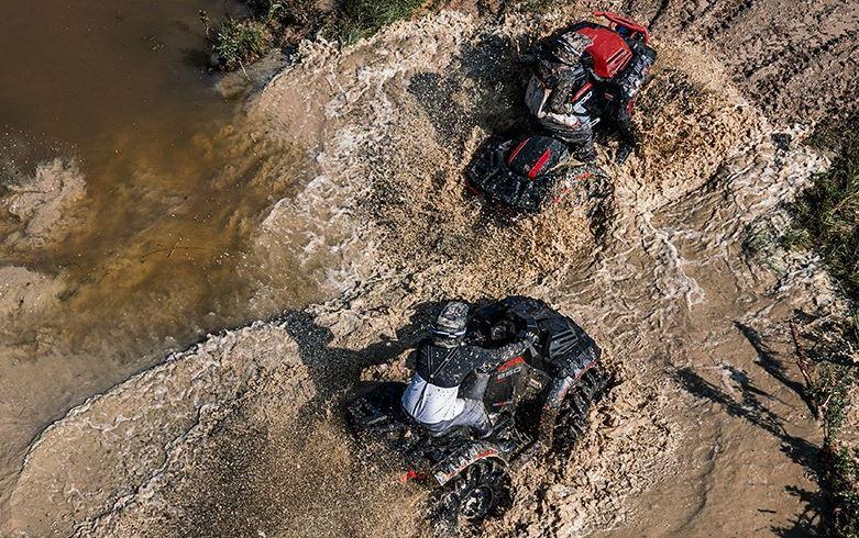 ATVs For Mudding Polaris Sportsman High Lifter