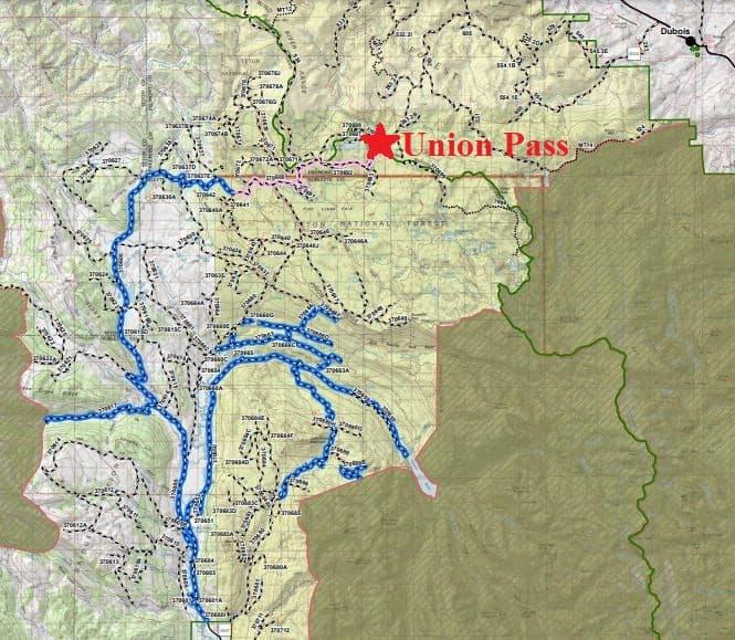 Union Pass ATV Trails In Wyoming