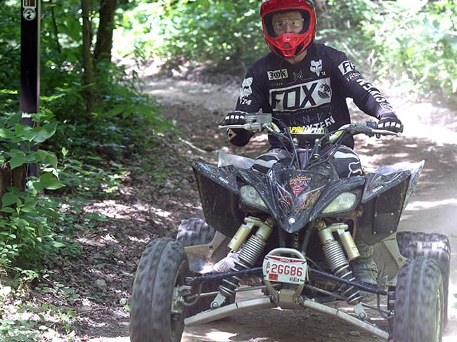 ATV Wayne National Forest